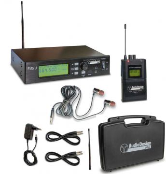 Audio Design Pro PMS-U korvamonitorijärjestelmä
