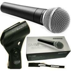 Shure SM-58LC laulu- ja puhemikrofoni