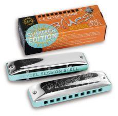 C.A.Seydel Blues Session Steel C Summer Edition huuliharppu