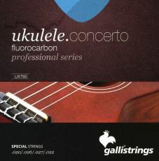Galli UX760 Konserttiukulelen kielet, Fluorocarbon