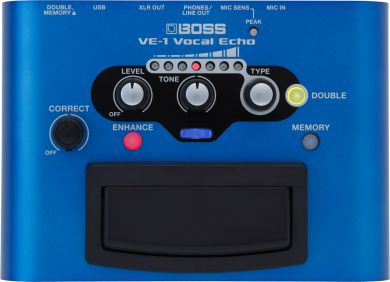 Boss VE-1 vocal Echo  laulukaiku