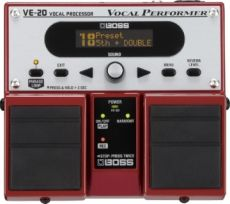 Boss VE-20 Vocal Performer - Processor