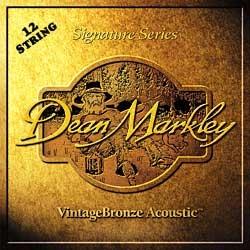 Dean Markley 12-kielinen Bronze light setti