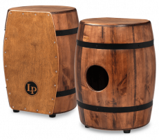 Latin Percussion Cajon LPM1406WB Stave Tumba Whiskey Barrel