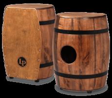 Latin Percussion Cajon LPM1406WB Stave Tumba Whiskey Barrel