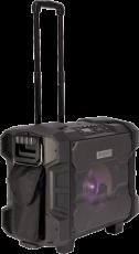 Ibiza Sound WPORT10-300 vedenkestävä akkukäyttöinen aktiivikaiutin+langaton+mikki+USB/SD